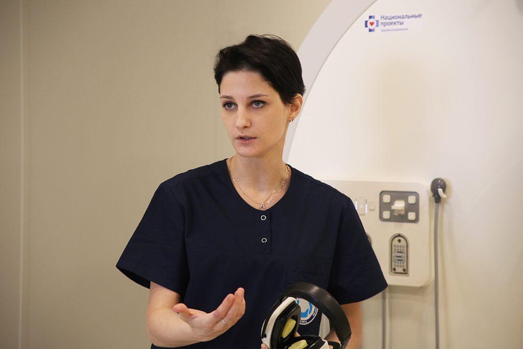 Заведующая отделением рентгенодиагностики Михалина Анна Муратовна