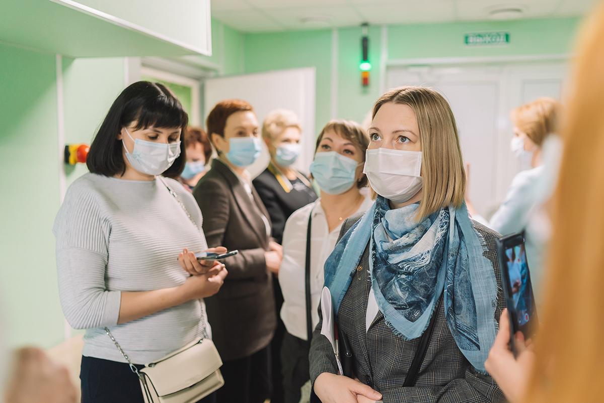 Делегация Кузбасса высоко оценила развитие здравоохранения Кировской области
