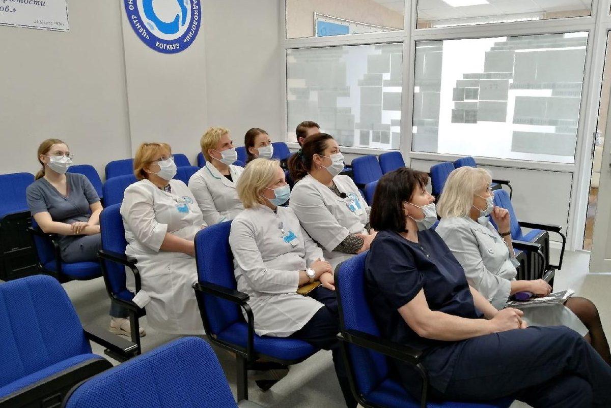 Специалисты Центра онкологии приняли участие в вебинаре НМИЦ онкологии им. Н.Н. Петрова «Мультидисциплинарная команда: как получить максимальную выгоду для пациента?»